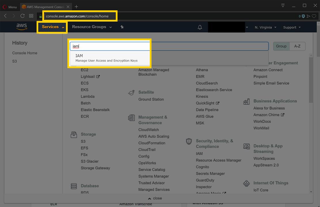 Configure Cloud Authorization for AWS