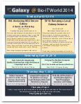 Galaxy Related Events @ BioIT World 2014