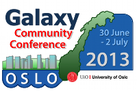 2013 Galaxy Community Conference (GCC2013)