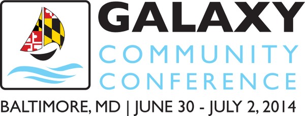 2014 Galaxy Community Conference (GCC2014), Baltimore Maryland, United States, June 30 - July 2 2014