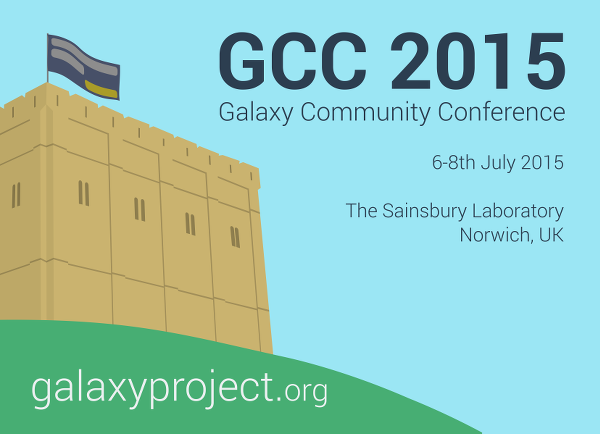 2015 Galaxy Community Conference (GCC2015)