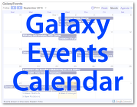 Galaxy Events Calendar