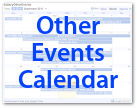 Galaxy Other Events Calendar