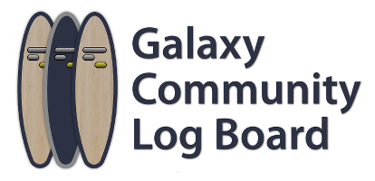 Galaxy Community Log Board