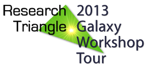 2013 Research Triangle Galaxy Workshop Tour