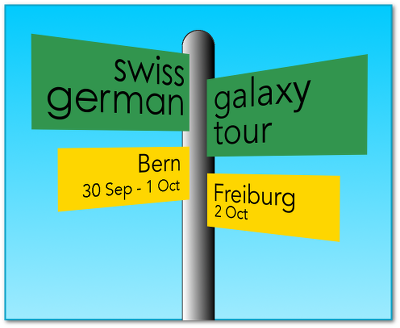 Swiss-German Galaxy Tour 2014