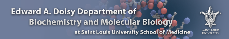 Saint Louis University Department of Biochemistry and Molecular Biology
