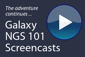 Galaxy NGS 101 Videos