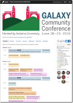 2016 Galaxy Community Conference complete schedule