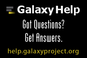 Galaxy has a new help site.