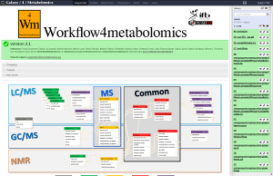 Workflow4metabolomics Galaxy server